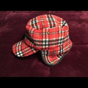 Flannel Fleece Ear Flap Winter Hat